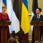 President of Estonia visited Ukraine